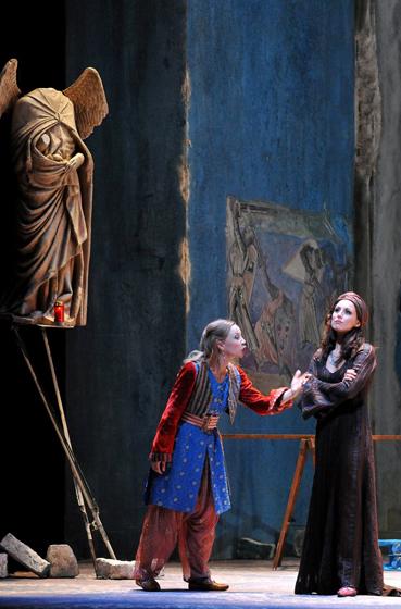 Entführung aus dem Serail, Deutsche Oper am Rhein, Sibylla Duffe mit Anett Fritsch