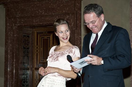 Kulturföderpreisverleihung durch Minister Heubisch